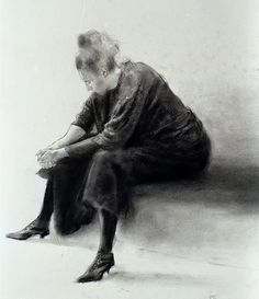 Paul Emsley, Seated girl