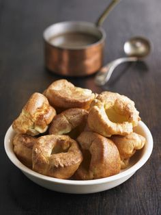 Gordon Ramsay's recipe for Yorkshire puddings is simply one of the best and easiest for this side dish for roast beef or roast pork.