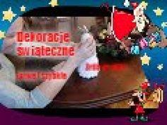 Łatwe i szybkie dekoracje świąteczne. Zrób to sam :) 4th Of July Wreath, Cement, Make It Yourself, Youtube, Christmas, Xmas, Navidad, Noel, Natal