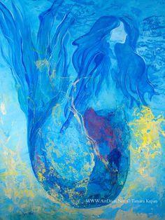 Original Mermaid Paintings