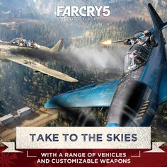 Far Cry 5 - Xbox One Standard Edition 887256028916 Far Cry Game, Far Cry 5, Small Town America, World Play, Video Game Collection, Land Of The Free, Xbox One, Playstation, Countryside