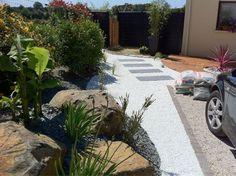 Paysagiste jardin moderne muret jardin jardin for Exterieur plus sevrier