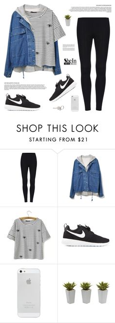 What Goes Around... Comes Around | SheIn 3 by alexandra-provenzano on Polyvore featuring NIKE, Paul Smith and Nearly Natural
