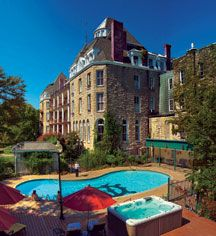 Frequent paranormal sightings rank the hotel as one of the most haunted hotels in the U.S. - Eureka Springs, Arkansas