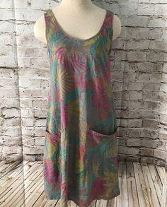 Fresh Produce Drape Dress. Sleeveless tank. Scoop neckline. bra friendly straps. Size XS. | eBay!