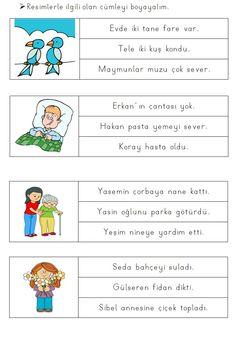 Alıntı Turkish Lessons, Learn Turkish Language, Autism Classroom, Sensory Activities, First Grade, Worksheets, Back To School, Preschool, Teacher