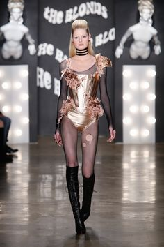 The Blonds NYFW FW15