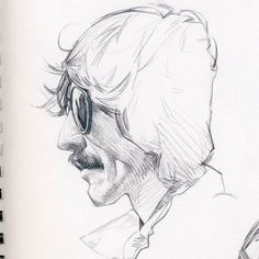 Continuing with a #music thing, #GeorgeHarrison #Sketchbook #portrait #drawing #sketch #pencil #Beatles #rock