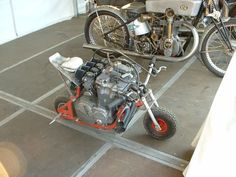 recycled-garage:  Light and nimble