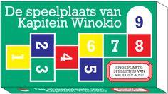 De speelplaats van Kapitein Winokio : speelplaatsspelletjes van vroeger en nu -  Seresia, Winok (concept) -  plaats spel 433.6