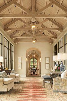 Whoa!  The windows, the beams.... 80 Photos of Interior Design Ideas