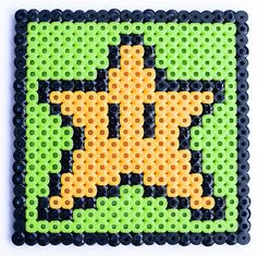 8 Bit Star Coaster