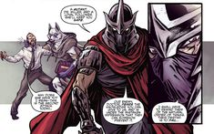 Image result for shredder comics Super Powers, Joker, Comics, Movie Posters, Fictional Characters, Image, Top, Film Poster, Jokers