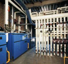 Foto uit het verleden van één van onze installatiebedrijven.  www.vd-sluis.nl