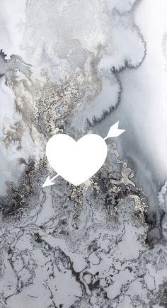 Dark marble with silver Heart Iphone Wallpaper, Cute Wallpaper For Phone, Wallpaper Backgrounds, Instagram Logo, Free Instagram, Disney Instagram, Mickey Mouse Wallpaper, Disney Wallpaper, Symbol Tattoos