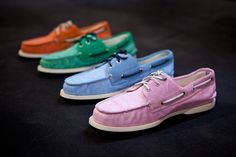 Pastel Sperry Topsider x Band of Outsiders