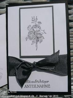 Best of Flowers Trauerkarte
