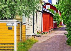 Raseborg in southern Finland, is a town where Swedish-speakers make up the majority.