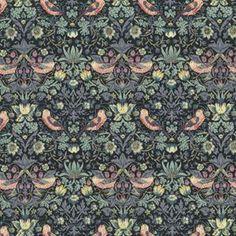 purl soho   products   item   tana lawn classics (liberty of london) 5061L Gray Strawberry Thief