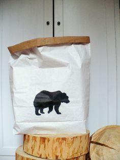 Papírový pytel medvědí