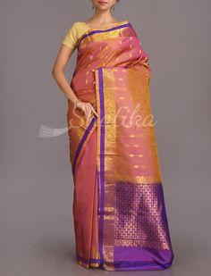 Jyoti Dual Shade Delight Pure #SalemSilkSaree