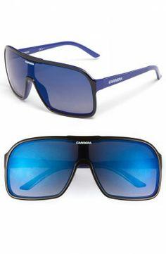 Óculos Carrera Women's Eyewear Aviator Sunglasses Black Blue #Carrera#Óculos