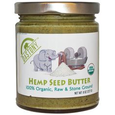 Dastony, 100% Organic Hemp Seed Butter, 8 oz (227 g) - iHerb.com