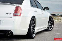 Chrysler 300 SRT8 - Matte Black Machined Rims by VossenWheels, via Flickr http://www.sidecaragency.com