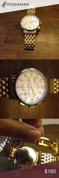 Beautiful Bulova watch In great condition, needs battery Bulova Accessories Watches