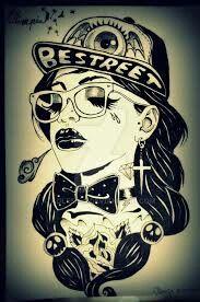 Gangsta Girl, Wallpapers, Female, Anime, Art, Art Background, Kunst, Wallpaper, Cartoon Movies