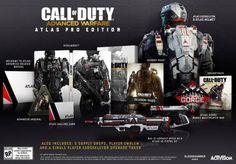 Call of Duty: Advanced Warfare presenta sus tres ediciones coleccionista