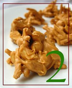 Butterscotch-Chow Mein Noodle Candy/Cookies - my mom used to make these for a sweet treat. Fun for the kids. TIP: I melt my chips in the microwave 15 seconds at a time. Do not let a drop of water in with those chips or you will have a mess!