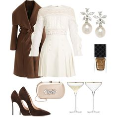 Untitled #9 by rwnnz on Polyvore featuring self-portrait, Chicwish, Casadei, Badgley Mischka and Gucci