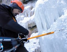 On the ice wall - Bicaz Gorge #greatwalker