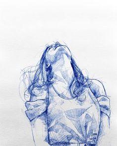 Up. . . #lough #young #ootd #model #girl #hair #longhairdontcare #practice #рисунок #dibujo #drawing #draw #arte #sketch #sketching…