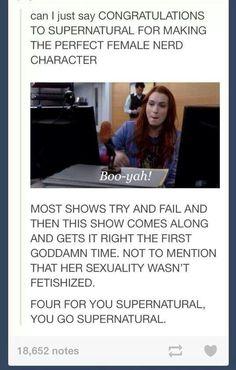 You go Supernatural!