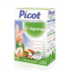 Bột ăn dặm Picot 5 hương vị hấp dẫn cho bé