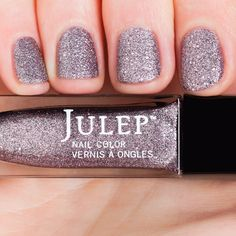 Cameron - Boho Glam - Secret Store | Julep, Silver lilac stardust (matte glitter)