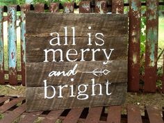 Hey, I found this really awesome Etsy listing at https://www.etsy.com/listing/198917971/christmas-barn-wood-decor-sign