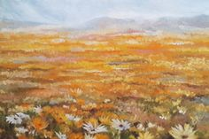 Oil on canvas x Painted by Ellie Eburne Tapestries, Oil On Canvas, Bloom, Flowers, Painting, Art, Hanging Tapestry, Art Background, Tapestry