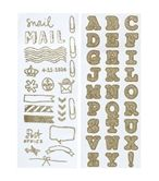 hema: sticker sheets glitter