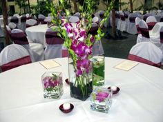 Party Table Centerpieces | Wedding Flower Decorations For Tables | Wedding Ideas
