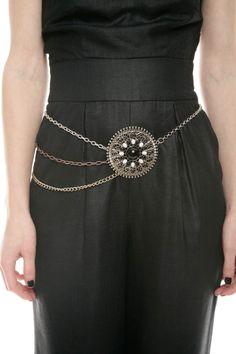 statement necklace as a belt~