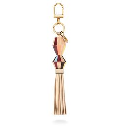 Tory Burch Painted-wood Tassel Key Fob, holiday wishlist.