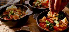 Rustic Tuscan Soup w/Kale.