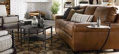 American Casual Scarborough Great Room Sofa  #bassetttemecula