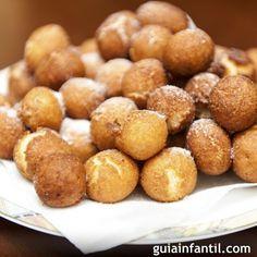 Peruvian Desserts, Peruvian Recipes, Donut Recipes, Baking Recipes, Bunuelos Recipe, Spanish Desserts, Spanish Recipes, Chilean Recipes, Food Goals