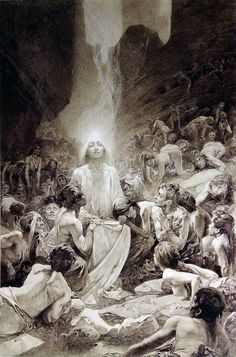 Alfons Mucha (1860-1939), Le Pater (Illustration for the Lord's Prayer), 1899