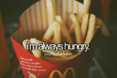 i would never stop eating if i didnt have will power!!  Been big once, promised myself that i would never be again