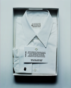 maisonmartinmargiela:  Autumn-Winter 2002 - Maison Martin Margiela Menswear Shirt description & care instructions.